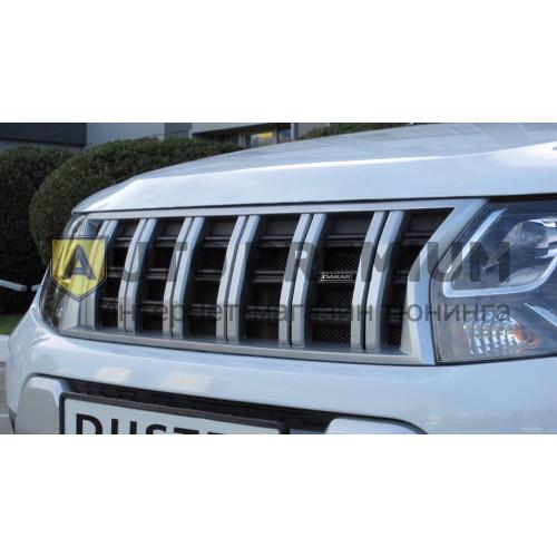 Решетка радиатора Renault Duster(2012-2015) «Dakar»
